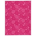 Signature Design by Ashley Casual Area Rugs Jayleen Fuchsia Medium Rug - Item Number: R403032