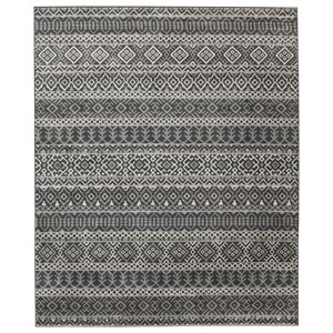 Signature Design by Ashley Casual Area Rugs Joachim Black/Tan Large Rug
