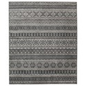 Signature Design by Ashley Casual Area Rugs Joachim Black/Tan Large Rug - Item Number: R403151