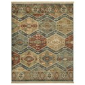 Signature Design by Ashley Casual Area Rugs Brooklie Multi Large Rug - Item Number: R403241