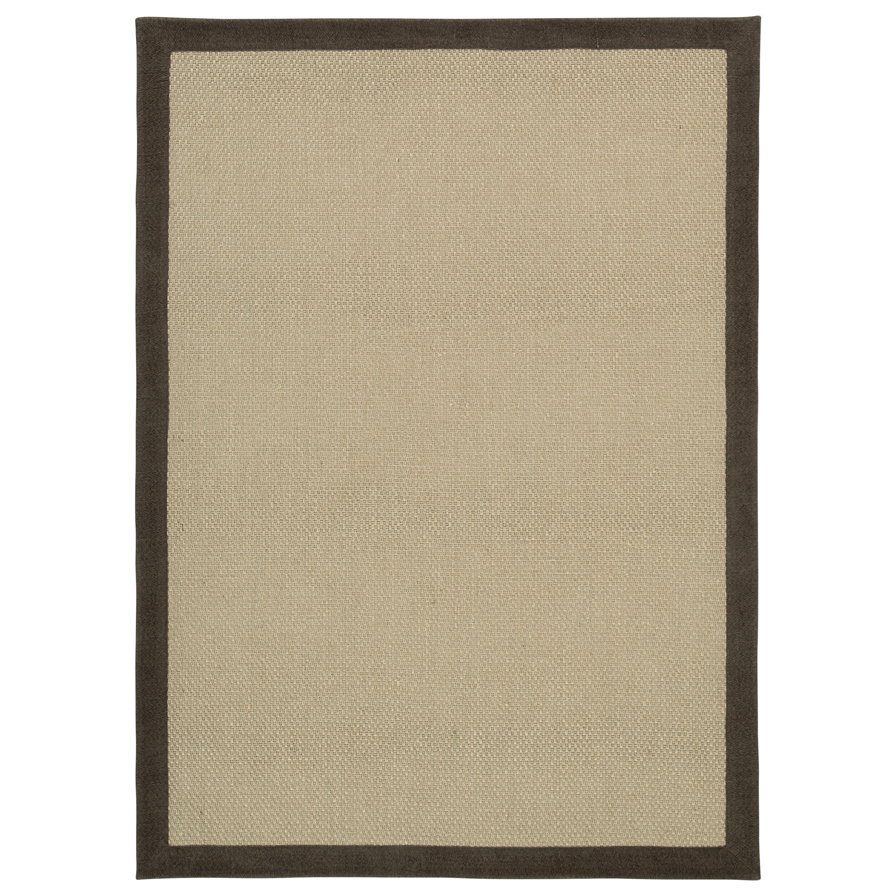 Signature Design by Ashley Casual Area Rugs Delta City Beige / Chocolate Large Rug - Item Number: R403261