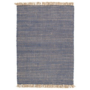 Mavis Navy/Natural Large Rug