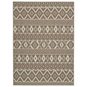 Signature Design by Ashley Casual Area Rugs Donaphan Tan/Cream Medium Rug - Item Number: R403632