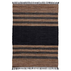 Zoran Black/Brown Medium Rug