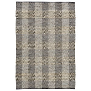 Christoff Taupe/Black Medium Rug