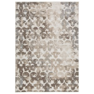 Jiro Brown/Cream Large Rug