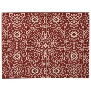 Cosada Red Large Rug