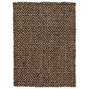 Signature Design by Ashley Casual Area Rugs Broox Natural/Black Medium Rug - Item Number: R404312