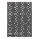 Signature Design by Ashley Casual Area Rugs Maysel Gray/Cream Large Rug - Item Number: R404611