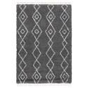 Signature Design by Ashley Casual Area Rugs Maysel Gray/Cream Medium Rug - Item Number: R404612