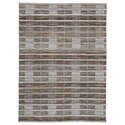Signature Design by Ashley Casual Area Rugs Edrea Brown Large Rug - Item Number: R404671