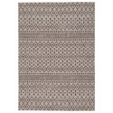 Signature Design by Ashley Casual Area Rugs Dubot Tan/Brown Indoor/Outdoor Large Rug - Item Number: R405011