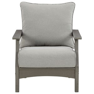Set of 2 Lounge Chairs w/ Cushion