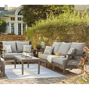 Outdoor Sofa and Loveseat