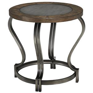 Signature Design by Ashley Pierce Round End Table