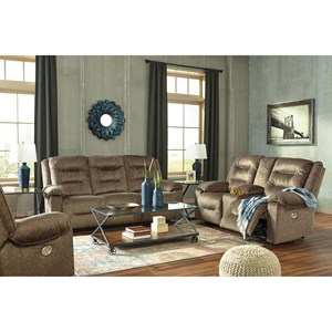 Signature Design by Ashley Waldheim Reclining Living Room Group