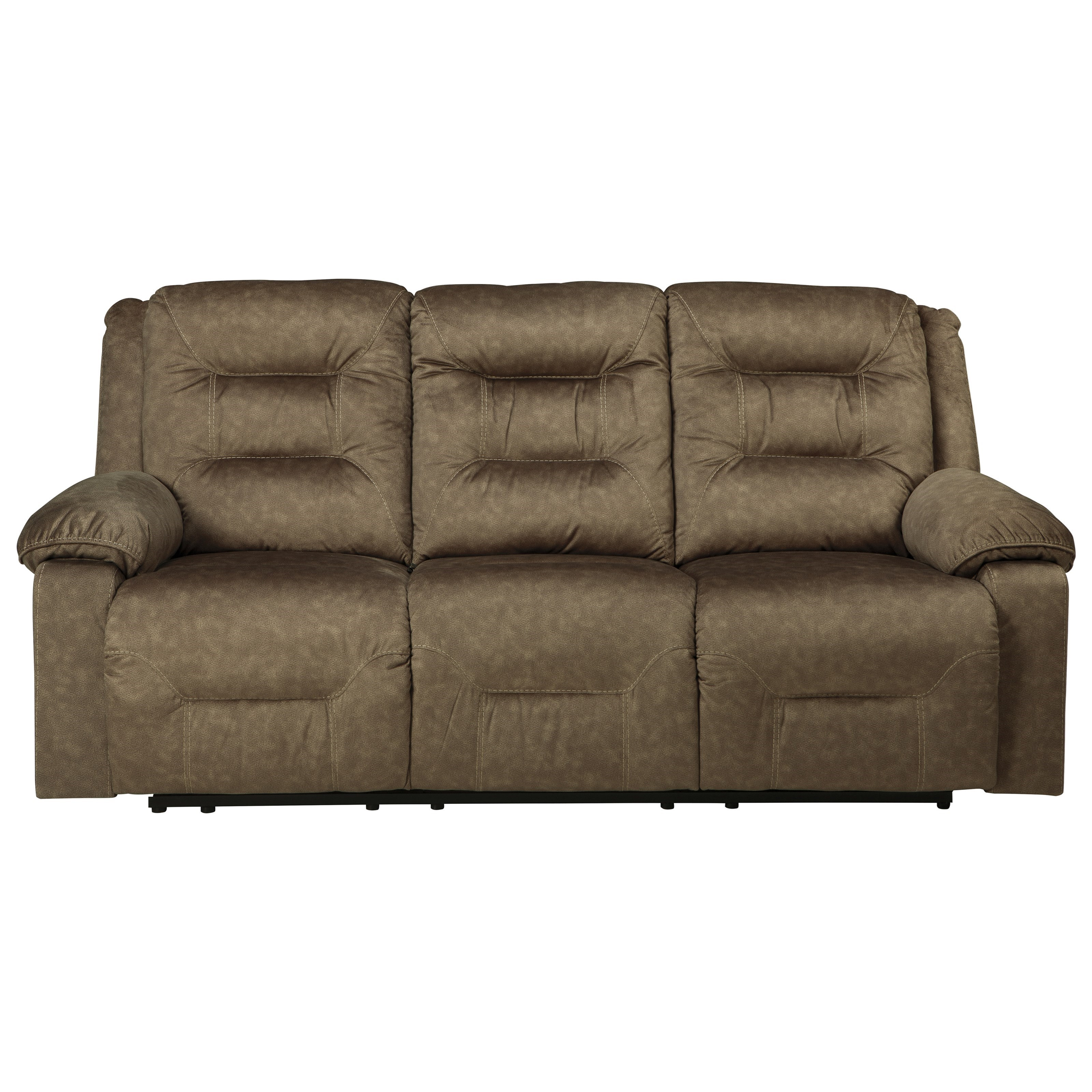 Ashley (Signature Design) Waldheim Power Reclining Sofa w/ Adjustable Headrests - Item Number: 8150115
