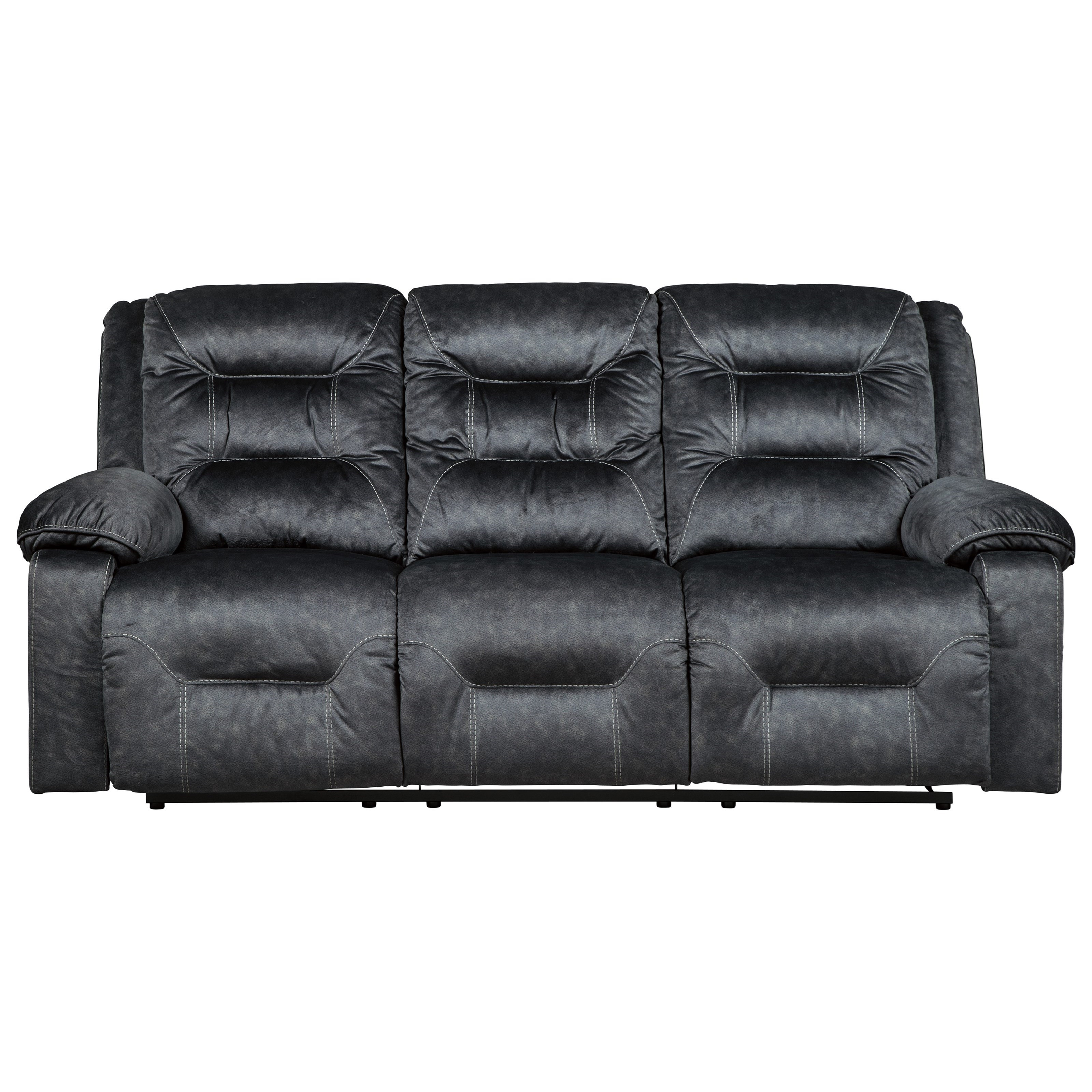Signature Design by Ashley Waldheim Power Reclining Sofa w/ Adjustable Headrests - Item Number: 8150215