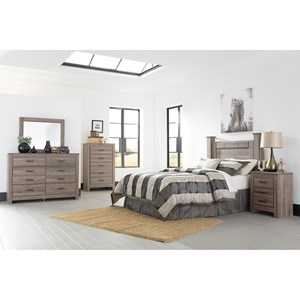 Signature Design by Ashley Furniture Waldrew Queen Bedroom Group