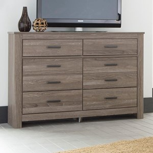 Signature Design by Ashley Furniture Waldrew Dresser