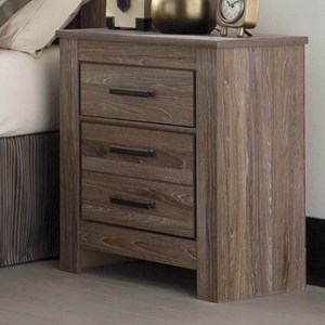 Signature Design by Ashley Waldrew Two Drawer Night Stand