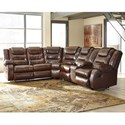 Signature Design by Ashley Walgast L-Shaped Sectional - Item Number: 3810148+49