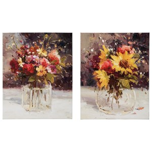 Signature Design by Ashley Wall Art Rosalind Multi Wall Art Set