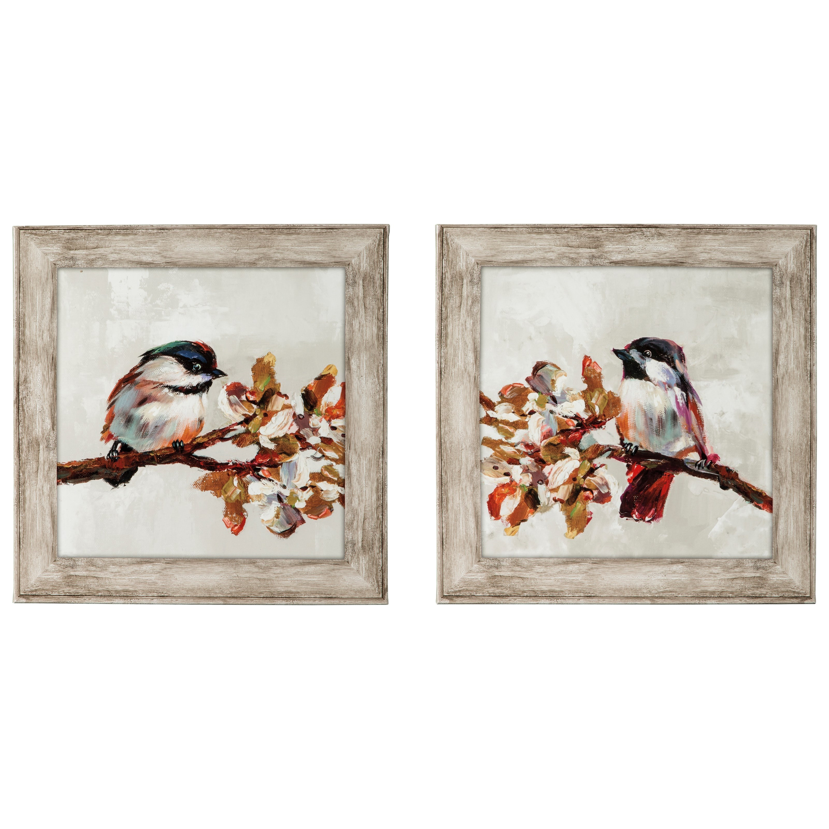 Signature Design by Ashley Wall Art Domitian Multi Wall Art Set - Item Number: A8000060