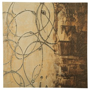 Signature Design by Ashley Wall Art Barnet Beige/Brown/Gray Wall Art