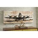 Signature Design by Ashley Wall Art Kalene Brown/Black Wall Art