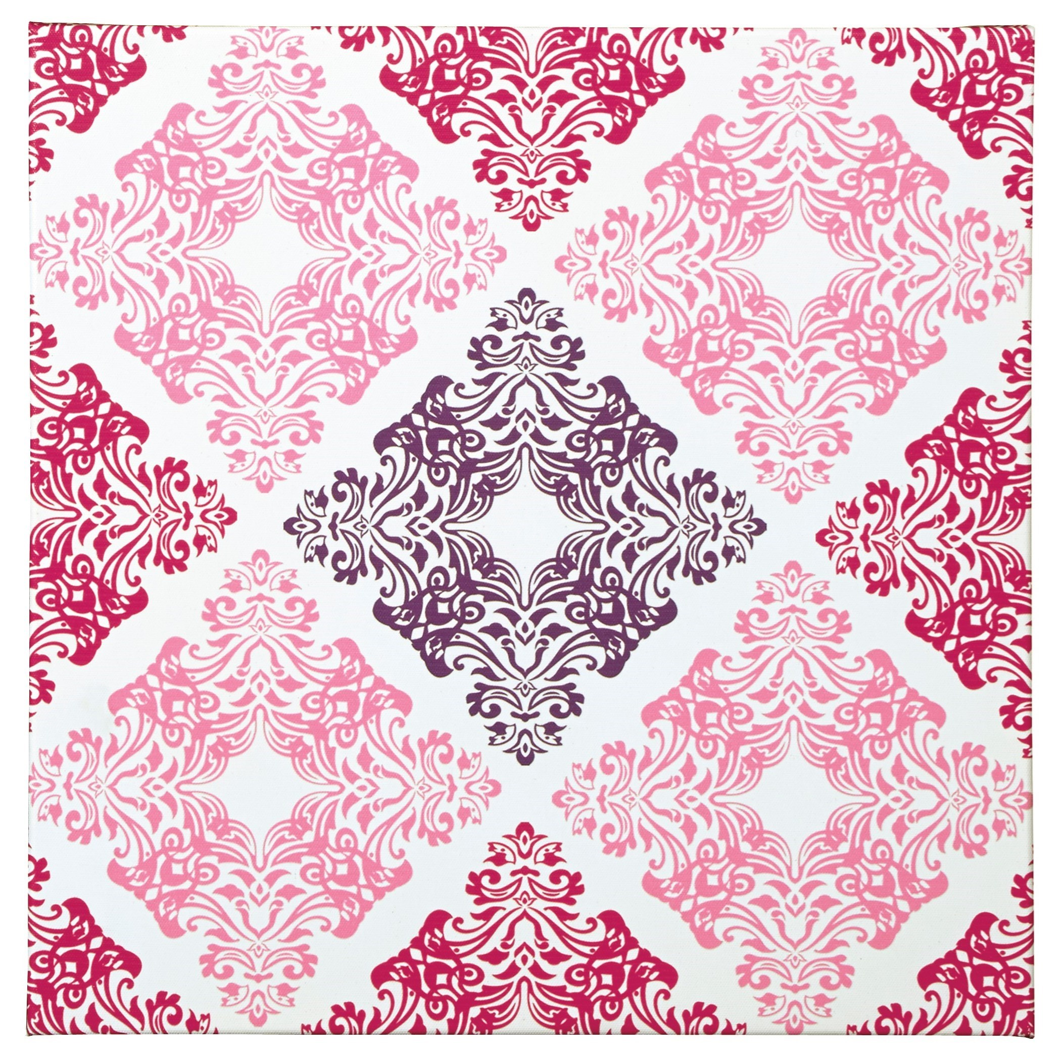 Signature Design by Ashley Wall Art Jadine White/Pink Wall Art - Item Number: A8000161