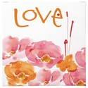 Signature Design by Ashley Wall Art Jachai Pink/Orange/White Wall Art - Item Number: A8000162