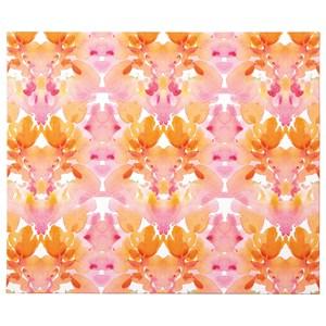 Signature Design by Ashley Wall Art Jachai Orange/Pink/White Wall Art