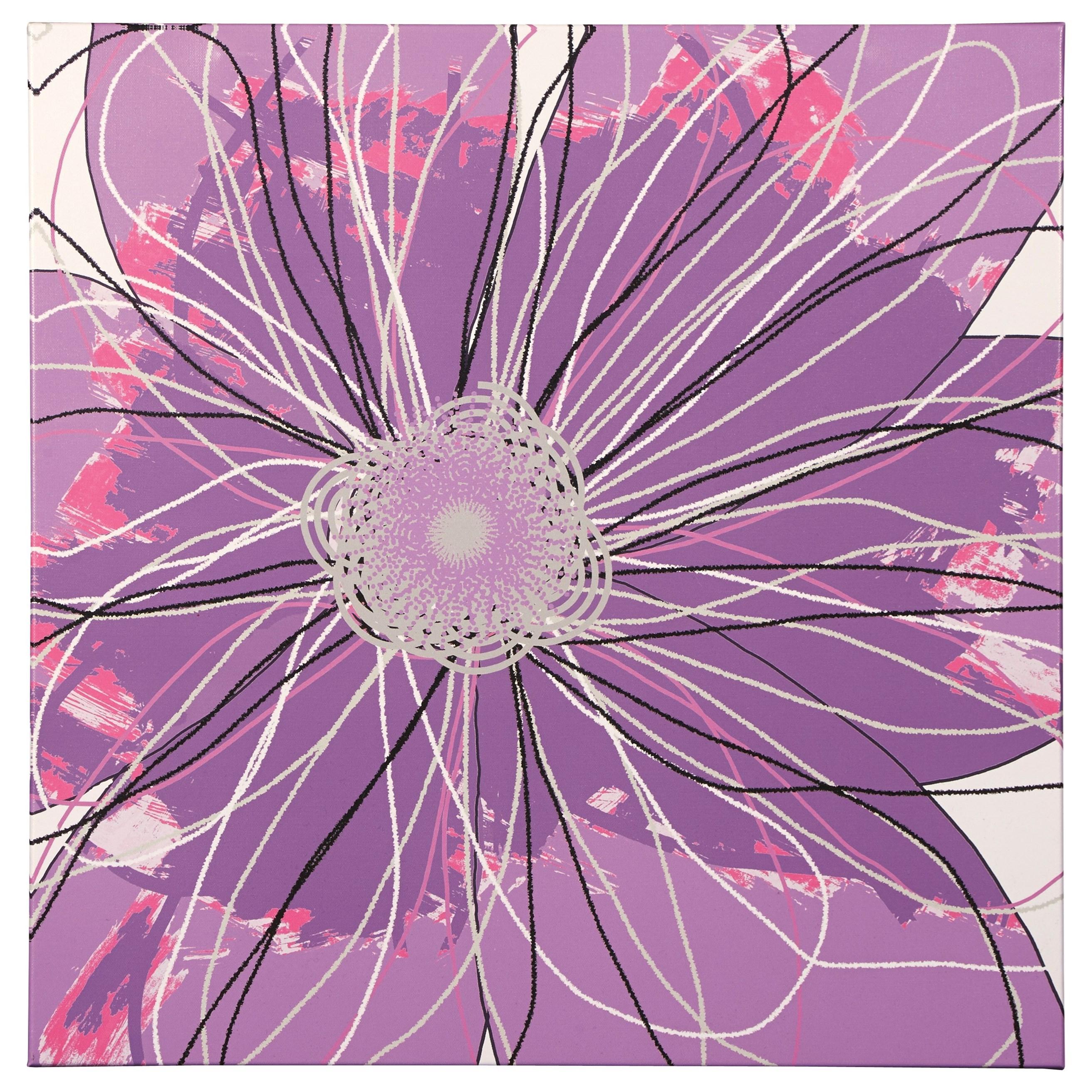 Signature Design by Ashley Wall Art Berdina Multi Wall Art - Item Number: A8000173