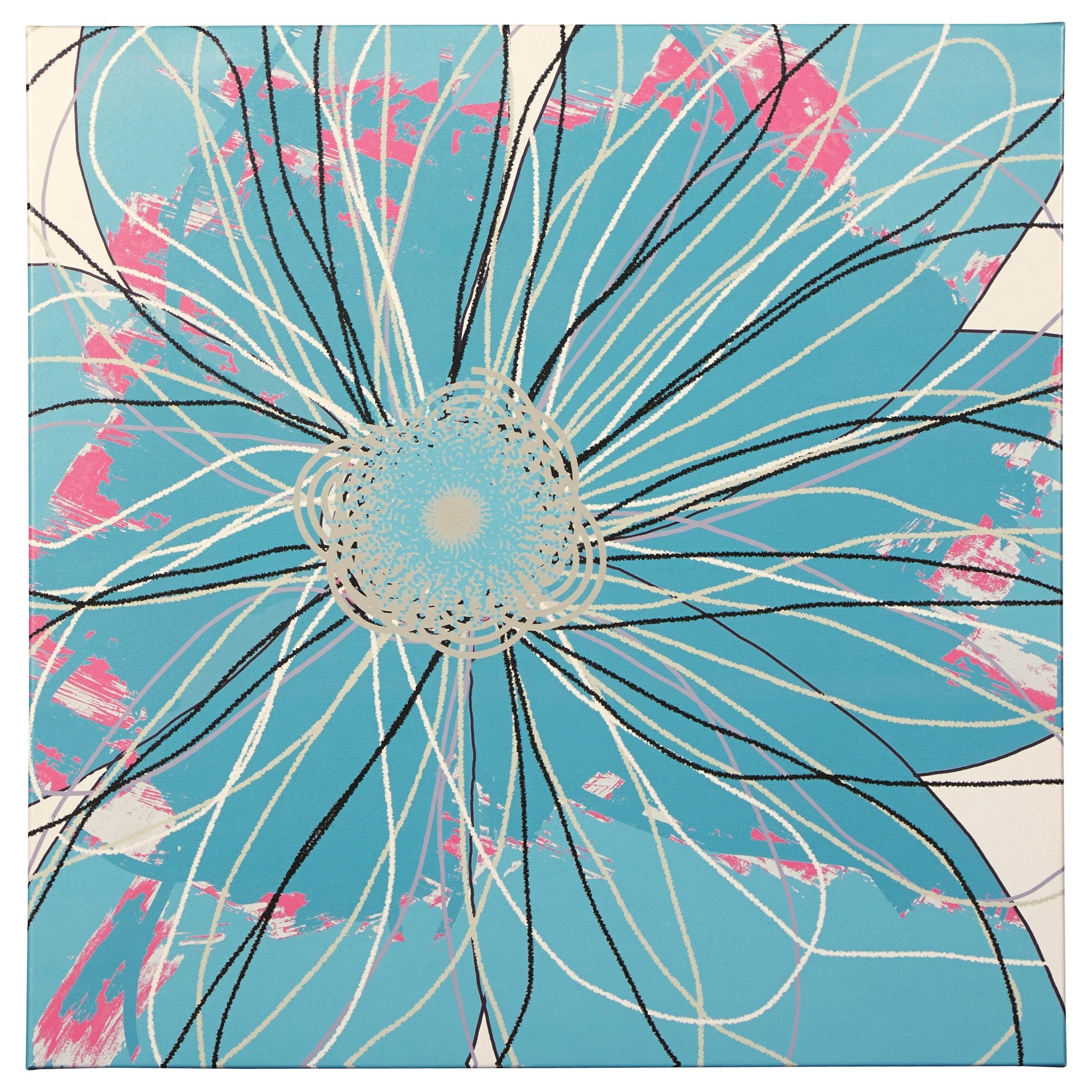 Signature Design by Ashley Wall Art Berdina Multi Wall Art - Item Number: A8000174