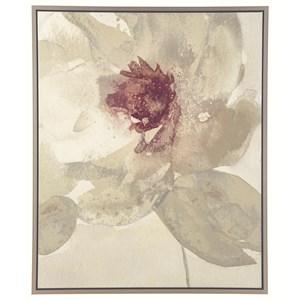 Ashley Signature Design Wall Art Odam - Taupe/Gray/Purple/White Wall Art