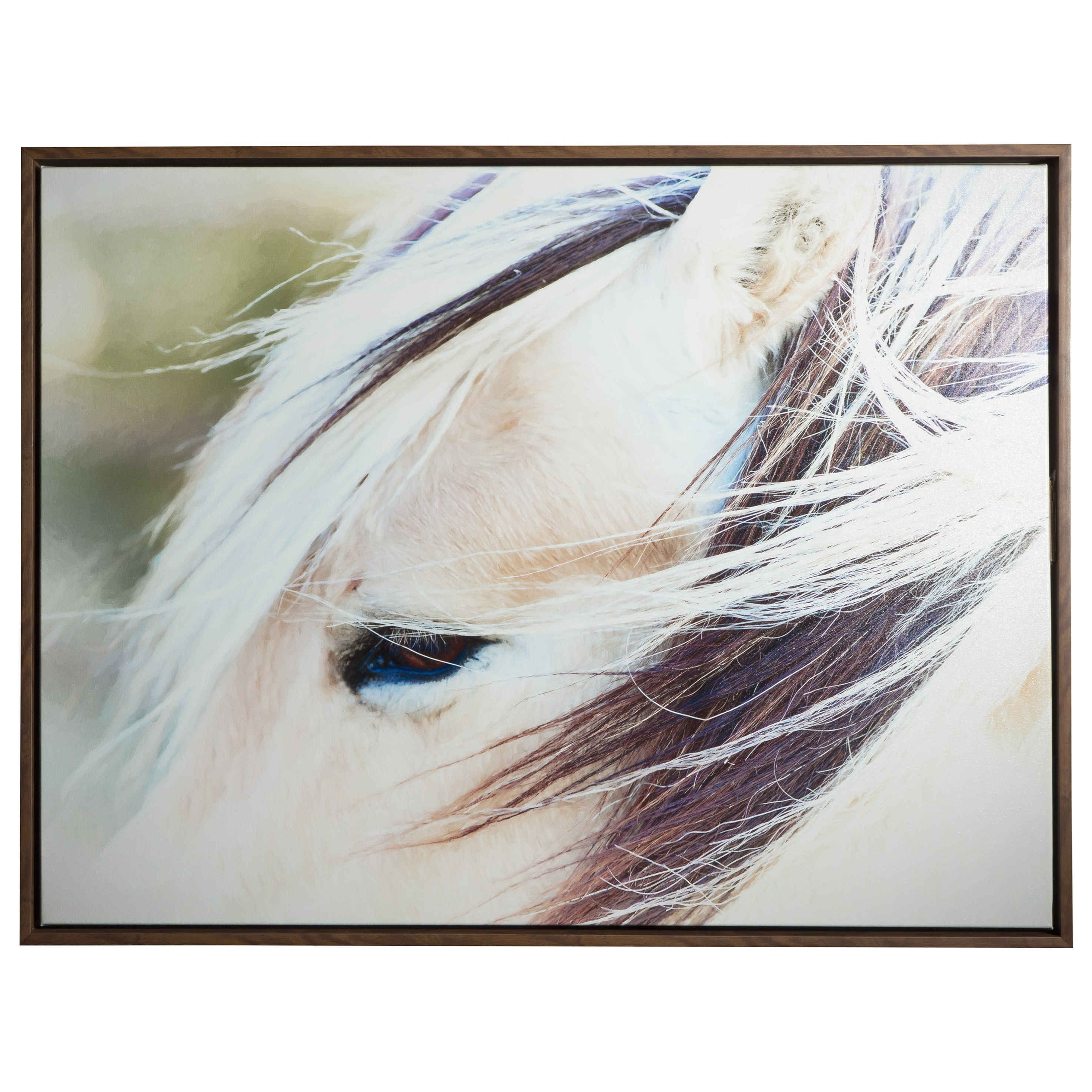 Signature Design by Ashley Wall Art Embla Brown/White Wall Art - Item Number: A8000184