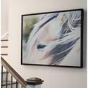 Signature Design by Ashley Wall Art Embla Brown/White Wall Art