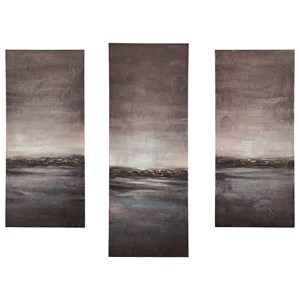Signature Design by Ashley Wall Art Dhiren Multi Wall Art Set