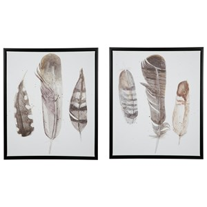 Signature Design by Ashley Wall Art 2-Piece Wall Art Set