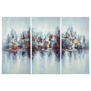 Signature Design by Ashley Wall Art Saide Multi Wall Art Set