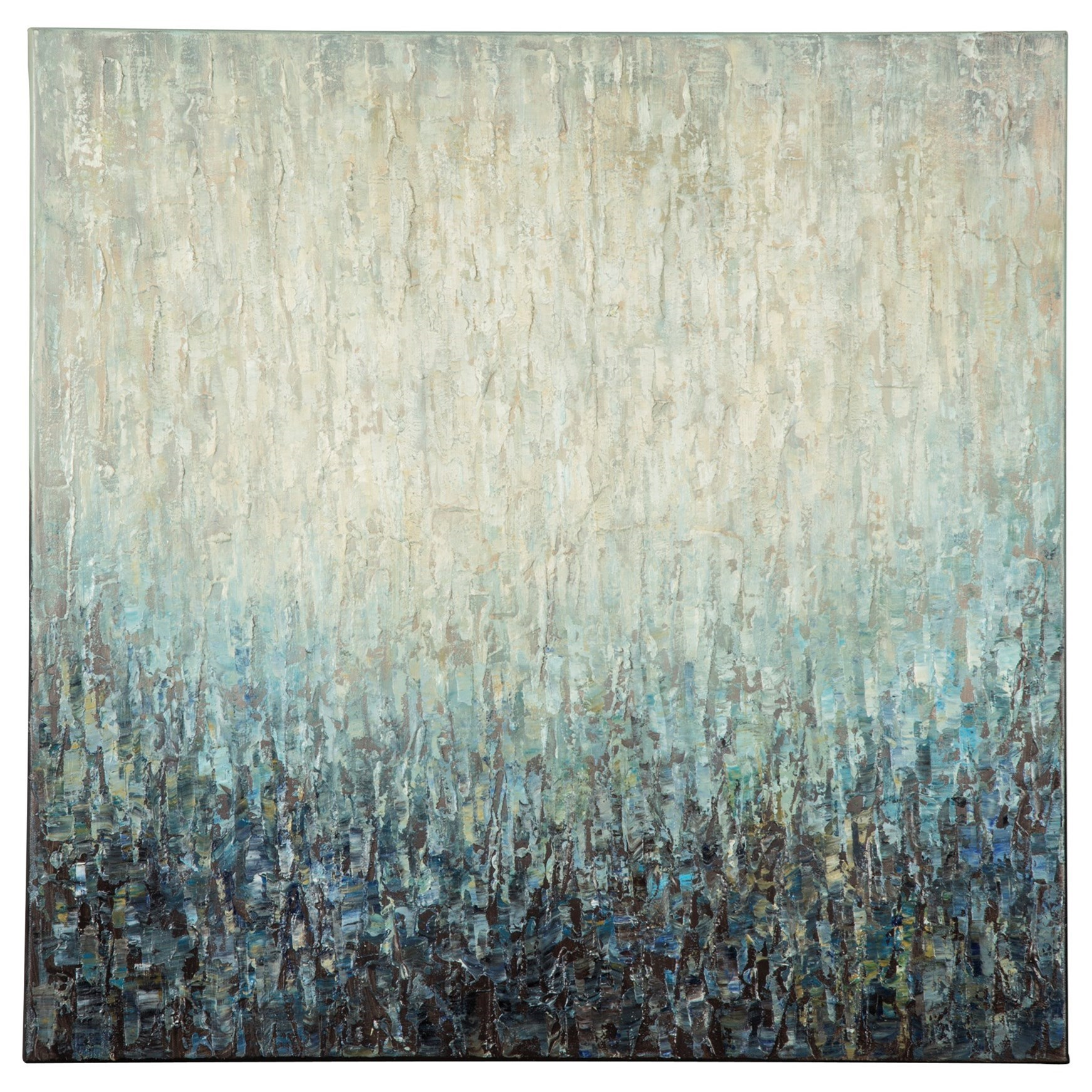 Wall Art Pearl Navy/Teal/Tan Wall Art by Signature Design by Ashley at Sparks HomeStore