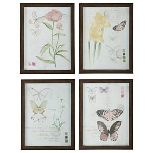 Signature Design by Ashley Wall Art 4-Piece Carlisia Wall Art Set