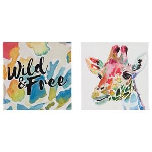 Signature Design by Ashley Wall Art Priya Wall Art Set
