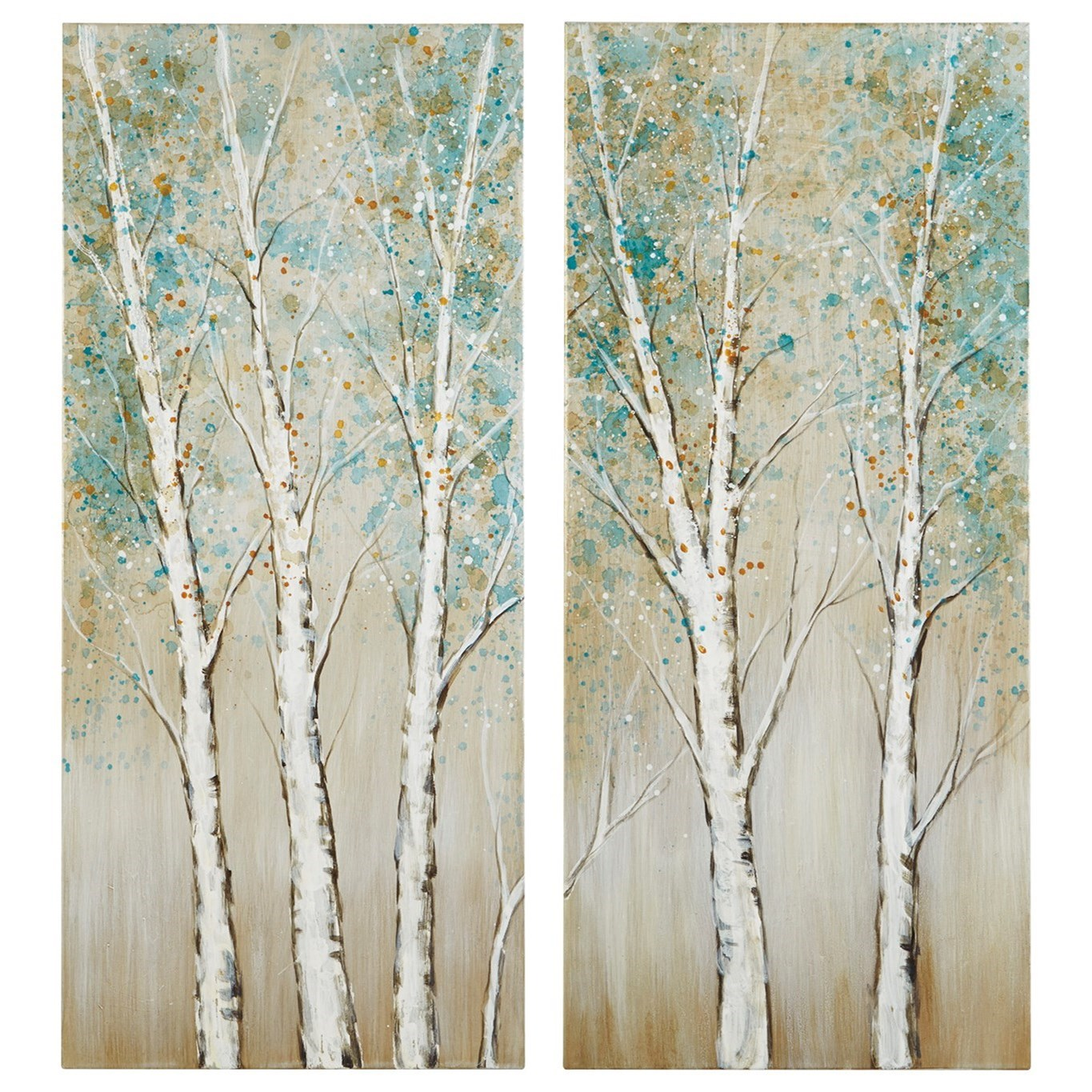Wall Art Judson Multi Wall Art Set by Signature Design by Ashley at Sparks HomeStore