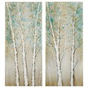 Signature Design by Ashley Wall Art Judson Multi Wall Art Set - Item Number: A8000274