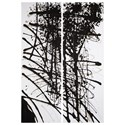 Signature Design by Ashley Wall Art Jace Black/Gray/White Wall Art Set - Item Number: A8000276