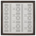 Signature Design by Ashley Wall Art Jonthrone Black/White Wall Art - Item Number: A8000301