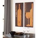 Signature Design by Ashley Wall Art Oguz Brown/Natural Wall Decor Set