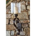Signature Design by Ashley Wall Art Ogilhinn Brown Wall Sconce